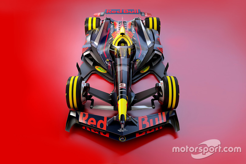 Red Bull Racing 2030 fantezi tasarım