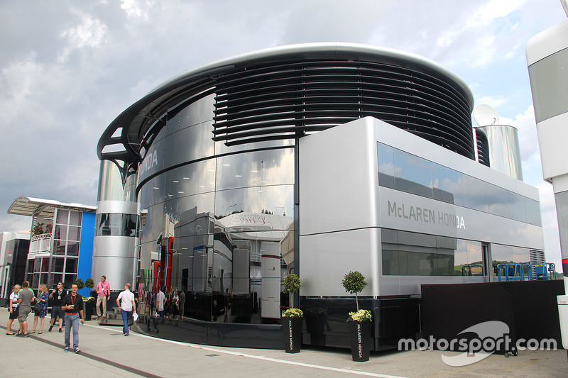 McLaren-Honda motorhome