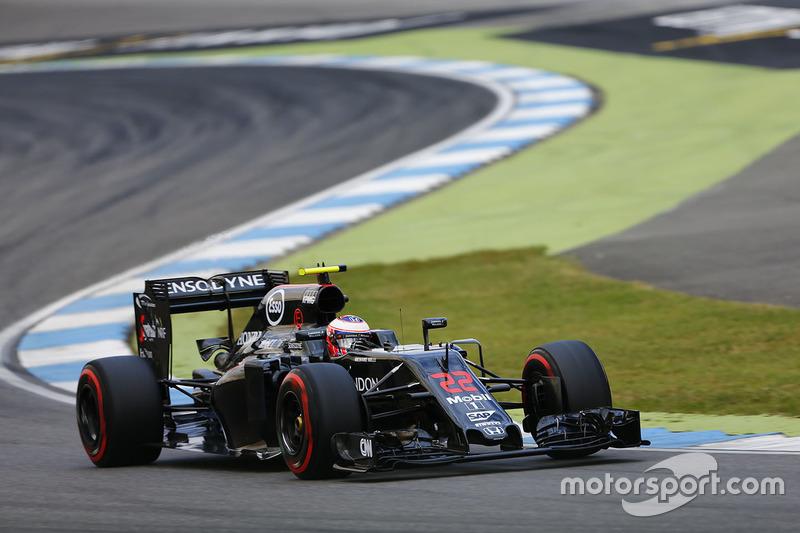 15. Jenson Button, McLaren