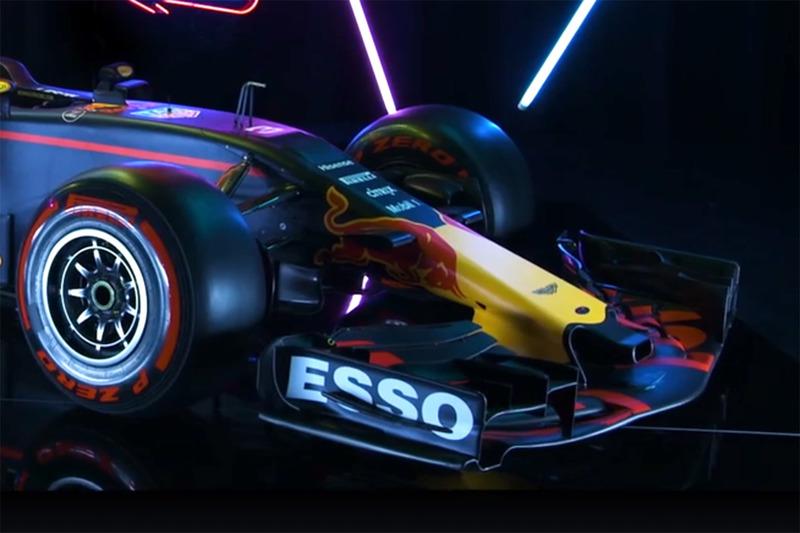 Red Bull Racing RB13, il muso e l'ala anteriore