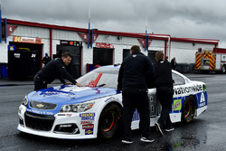 The car of Dale Earnhardt Jr., Hendrick Motorsports Chevrolet
