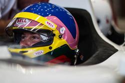 Jacques Villeneuve en el coche de 2 plazas