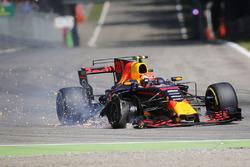 Прокол: Макс Ферстаппен, Red Bull Racing RB13