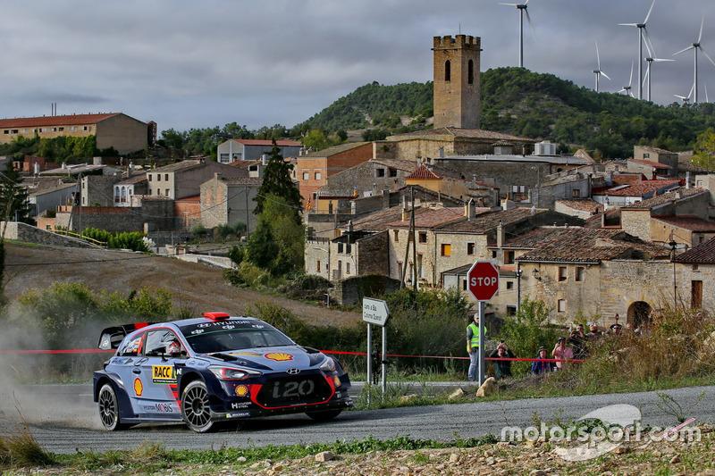 Dani Sordo, Marc Marti, Hyundai i20 WRC, Hyundai Motorsport