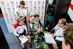 Cal Crutchlow, Team LCR Honda, Marco Barbiani, Team LCR Honda,  ingeniero de datos