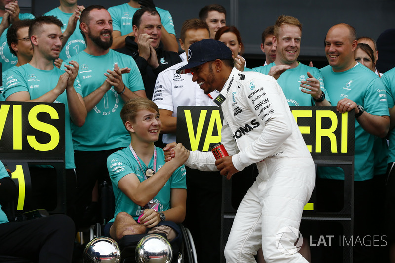 Льюіс Хемілтон, Mercedes AMG F1, Біллі Монгер із командою