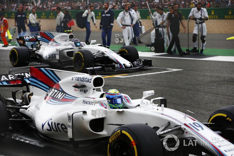 Фелпе Масса, Williams FW40, Ленс Стролл, Williams FW40