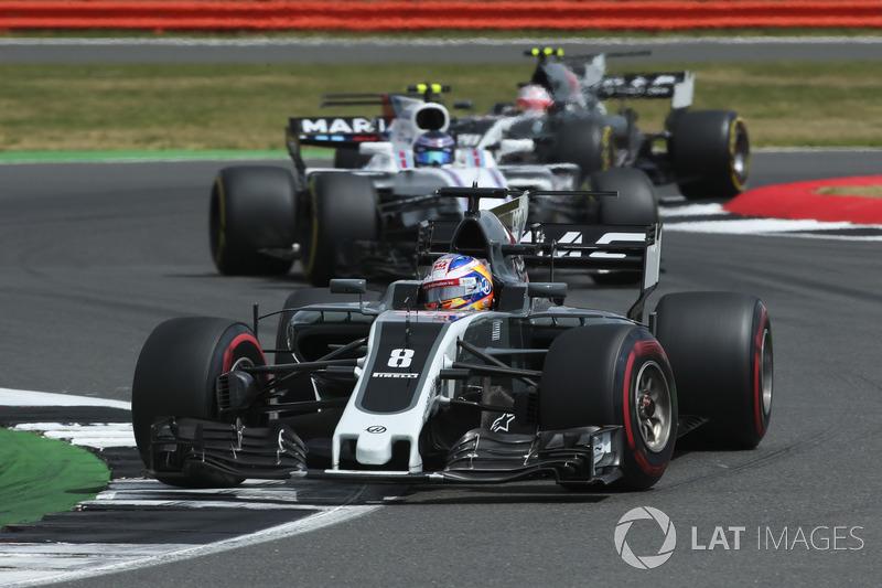 Ромен Грожан, Haas F1 Team VF-17, Ленс Стролл, Williams FW40