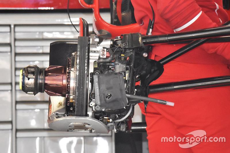 Ferrari SF70H ensamble del freno delantero