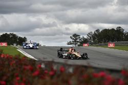 James Hinchcliffe, Schmidt Peterson Motorsports Honda, Helio Castroneves, Team Penske Chevrolet
