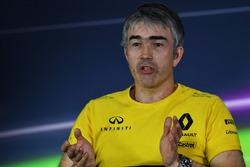 Pressekonferenz: Nick Chester, Technischer Direktor, Renault Sport F1 Team