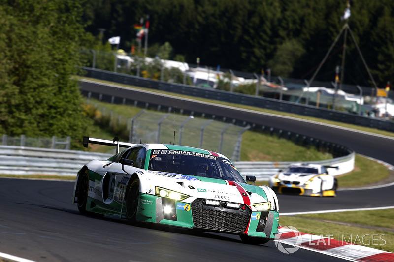 8. #28 Audi Sport Team Land-Motorsport, Audi R8 LMS