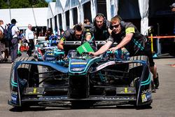 Car of Mitch Evans, Jaguar Racing