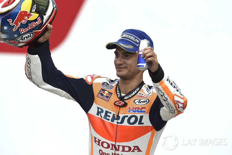 Друге місце Дані Педроса, Repsol Honda Team