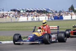 Найджел Менселл, Williams FW14, Айртон Сенна, McLaren MP4/6