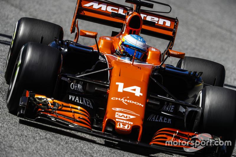 FP2 - Fernando Alonso, McLaren MCL32