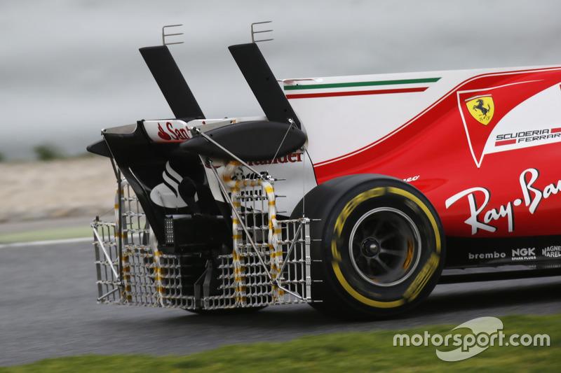 8. Aero sensores en el Ferrari