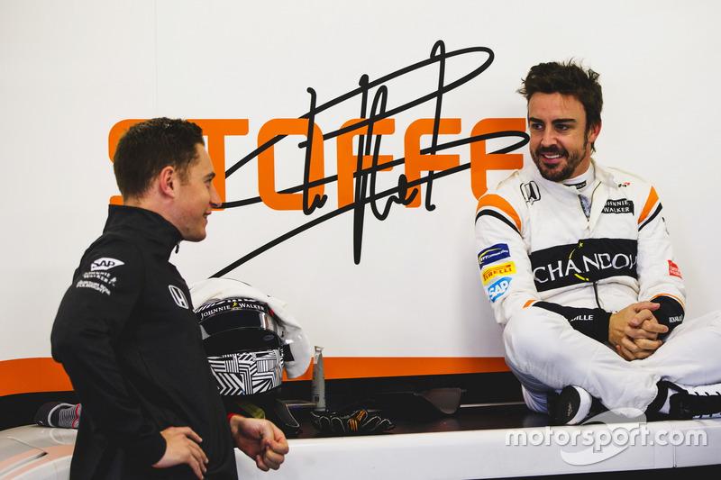 Stoffel Vandoorne und Fernando Alonso, McLaren