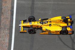 Fernando Alonso, Andretti Autosport Honda during pace laps