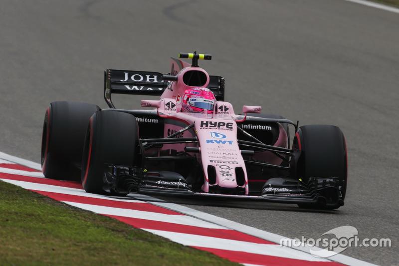 10. Esteban Ocon, Force India VJM10