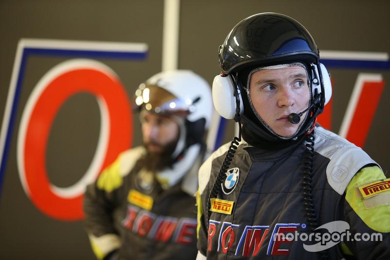 Team member of Rowe Racing