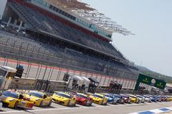 Ferrari 488 line up