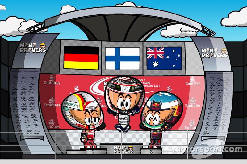 El GP de Austria 2017 de F1 según Los MiniDrivers