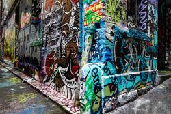 فن الرسم فى شوارع ملبورن