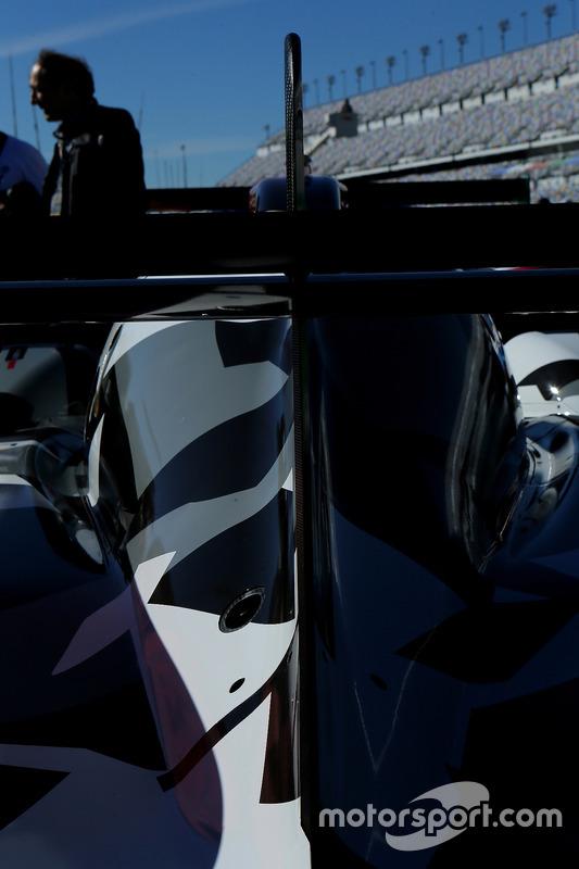 Detalle del  #13 Rebellion Racing ORECA 07: Neel Jani, Sébastien Buemi, Stéphane Sarrazin, Nick Heidfeld