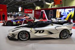 The Ferrari stand