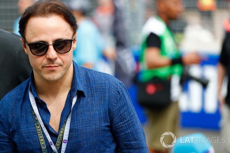 Retired Formula 1 driver, Felipe Massa