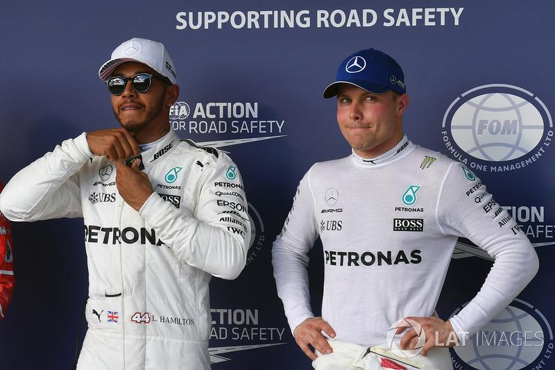 3 місце - Валттері Боттас, Mercedes AMG F1