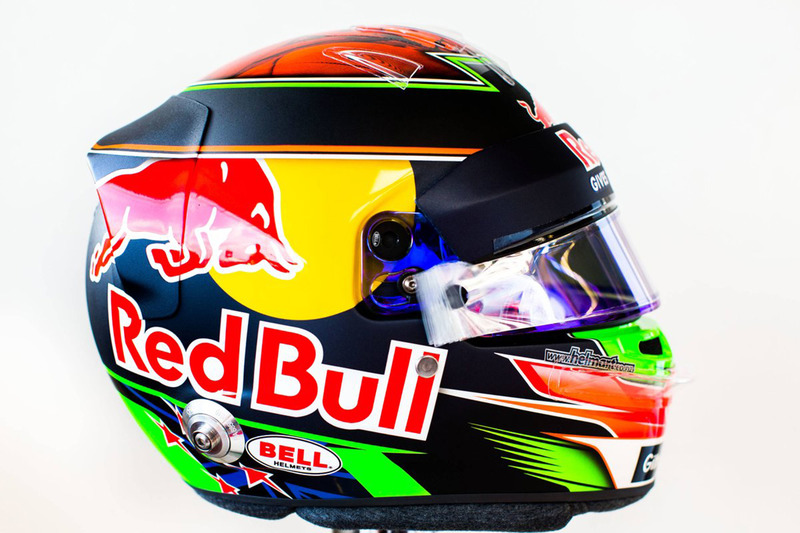 Brendon Hartley'ın kaskı, Scuderia Toro Rosso