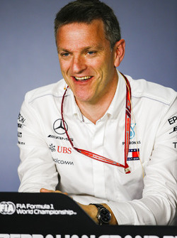 James Allison, Technical Director, Mercedes AMG, in a Press Conference