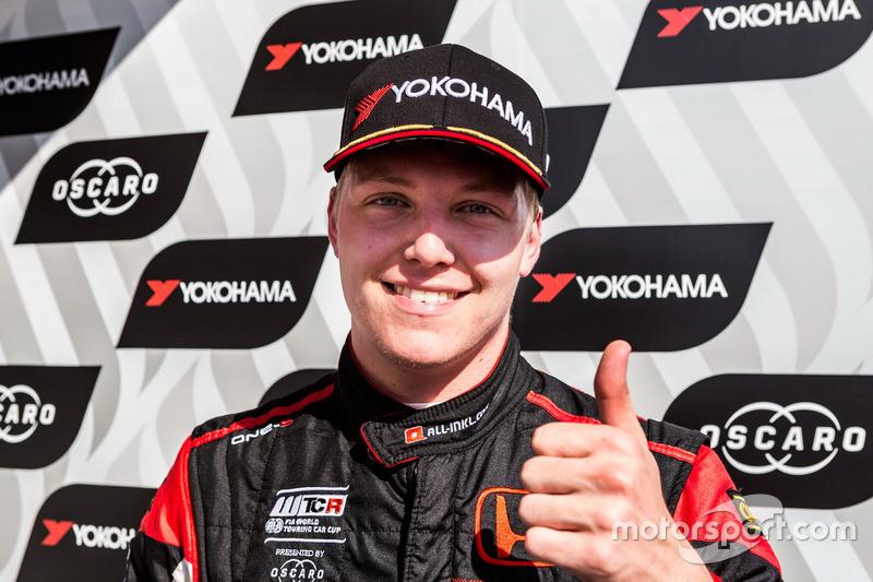 Ganador de carrera Yann Ehrlacher, ALL-INKL.COM Münnich Motorsport Honda Civic Type R TCR