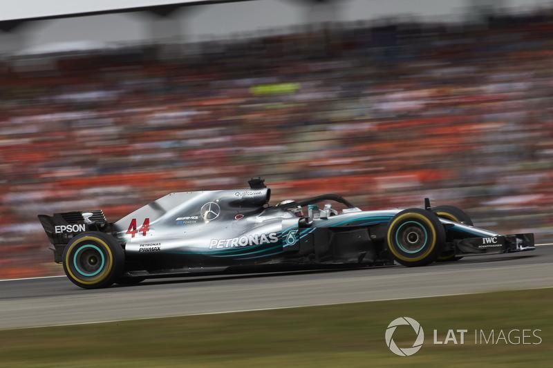 Gran Premio de Alemania-Lewis Hamilton