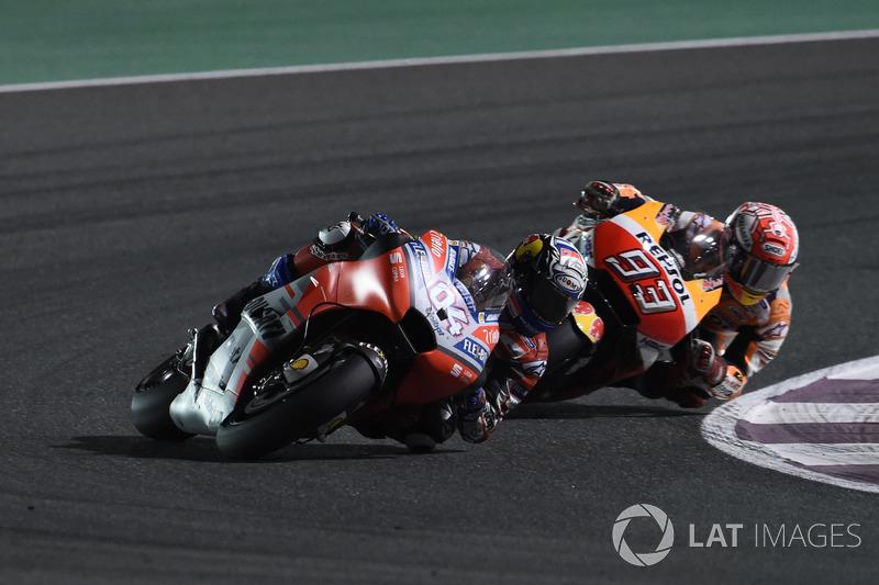 GP de Qatar: Andrea Dovizioso, Ducati Team