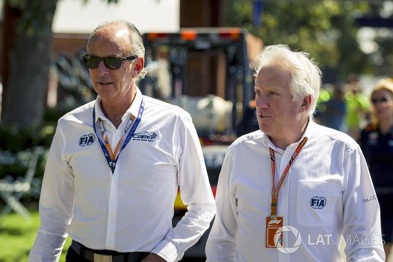 Charlie Whiting, FIA Delegesi, pist yürüyüşü