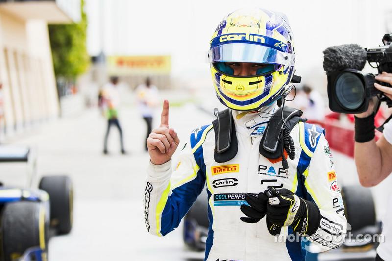 Race winner Lando Norris, Carlin