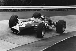 Jim Clark, Lotus 49 Ford, en el Karussel