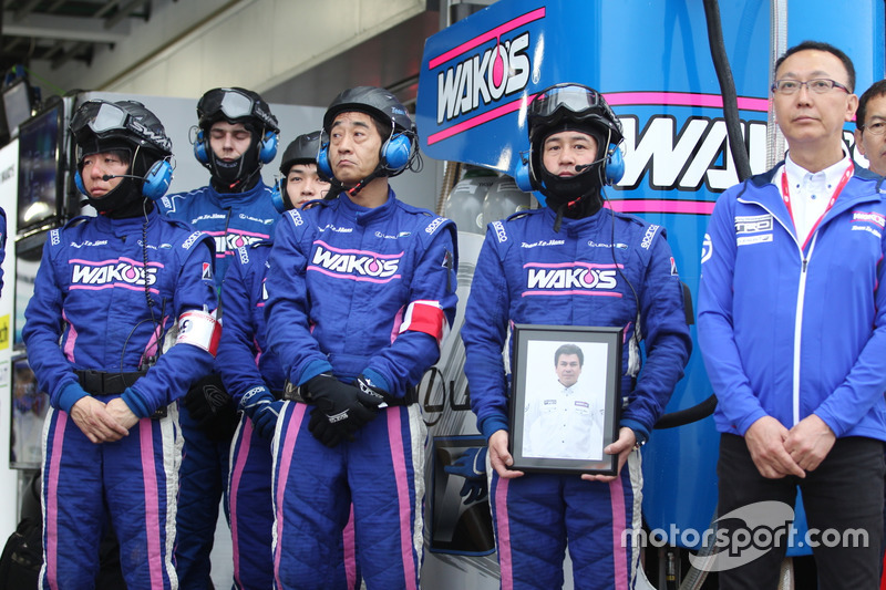 Commemoration for Kenji Yamada, Team LeMans chief engineer