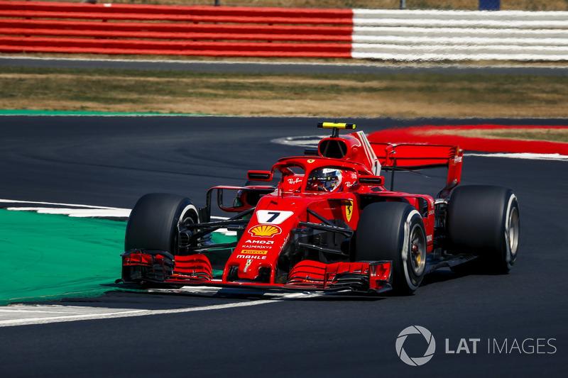 3. Кімі Райкконен, Ferrari — 116