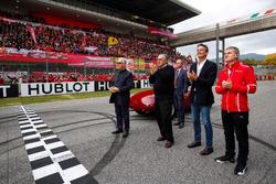 Piero Lardi Ferrari, Ferrari Vice President en Sergio Marchionne, CEO FIAT