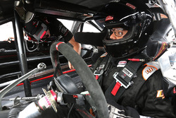 2017 NASCAR Drive for Diversity participant Ryan Vargas waits in his car