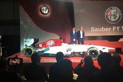 Sauber Alfa Romeo, Шарль Леклер, Маркус Ерікссон