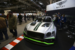 A Bentley on display