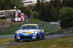 #96 www.clickversicherung.de Team Porsche 991 GT 3 Cup MR: Robin Chrzanowski, Kersten Jodexnis, Peter Scharmach