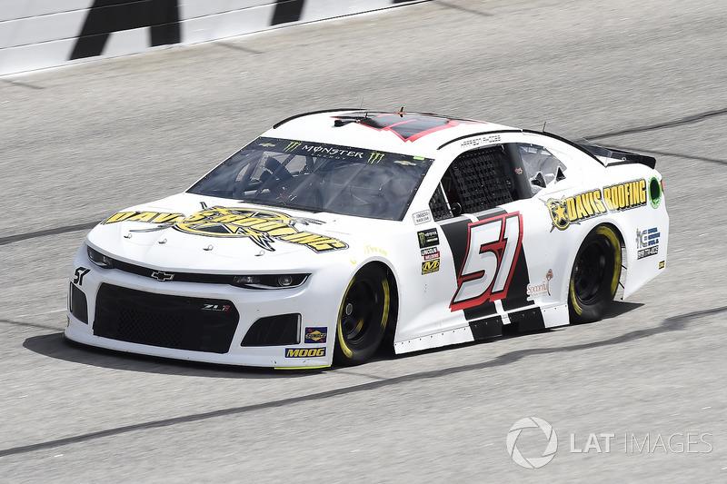 36. Harrison Rhodes, No. 51 Rick Ware Racing Chevrolet Camaro