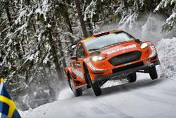 Хеннинг Сольберг и Като Менкеруд, Ford Fiesta WRC