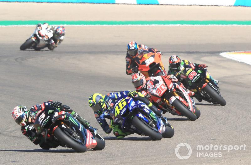 Жоанн Зарко, Monster Yamaha Tech 3, Валентино Россі, Yamaha Factory Racing, Такаакі Накагамі, Team LCR Honda